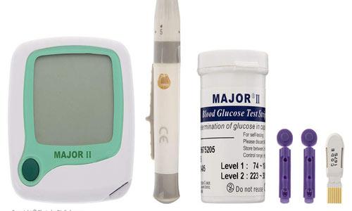 دستگاه تست قند خون ماژور مدل 0927